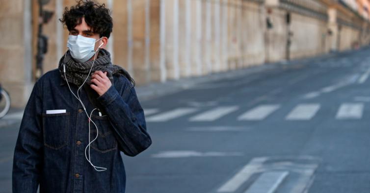 France Faces The Coronavirus